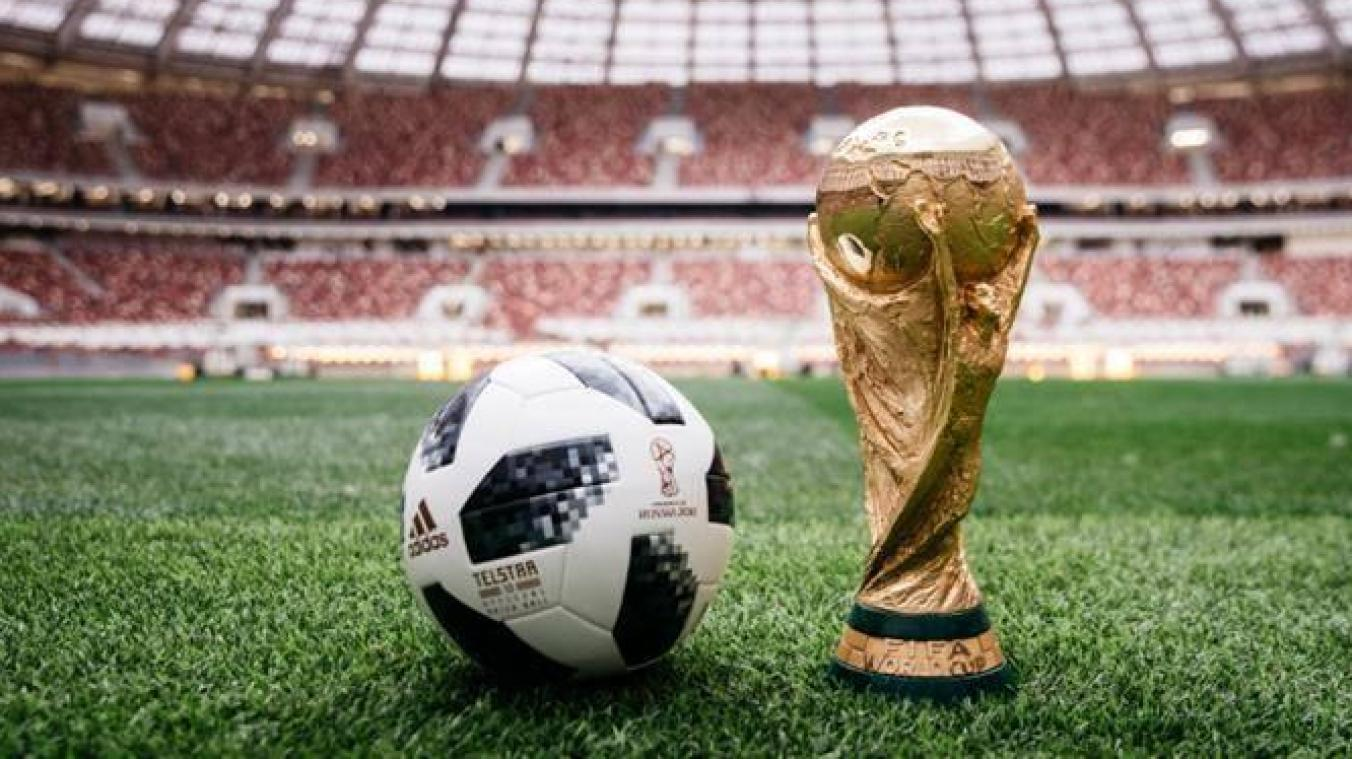 Le ballon de la coupe du monde 2018 officiellement pr sent dition digitale de li ge - Coupe du monde 2018 football ...