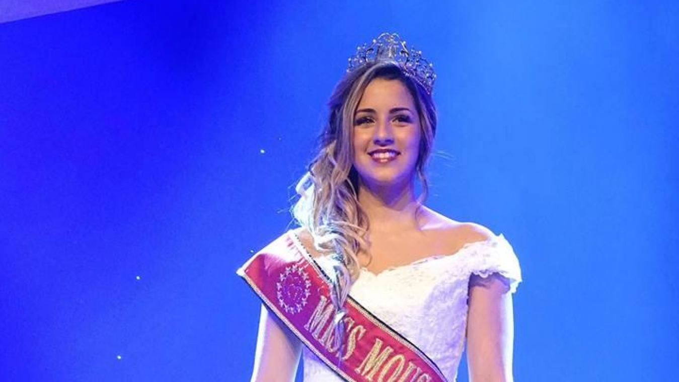 Nadia Cherrih tente sa chance pour Miss Europe.