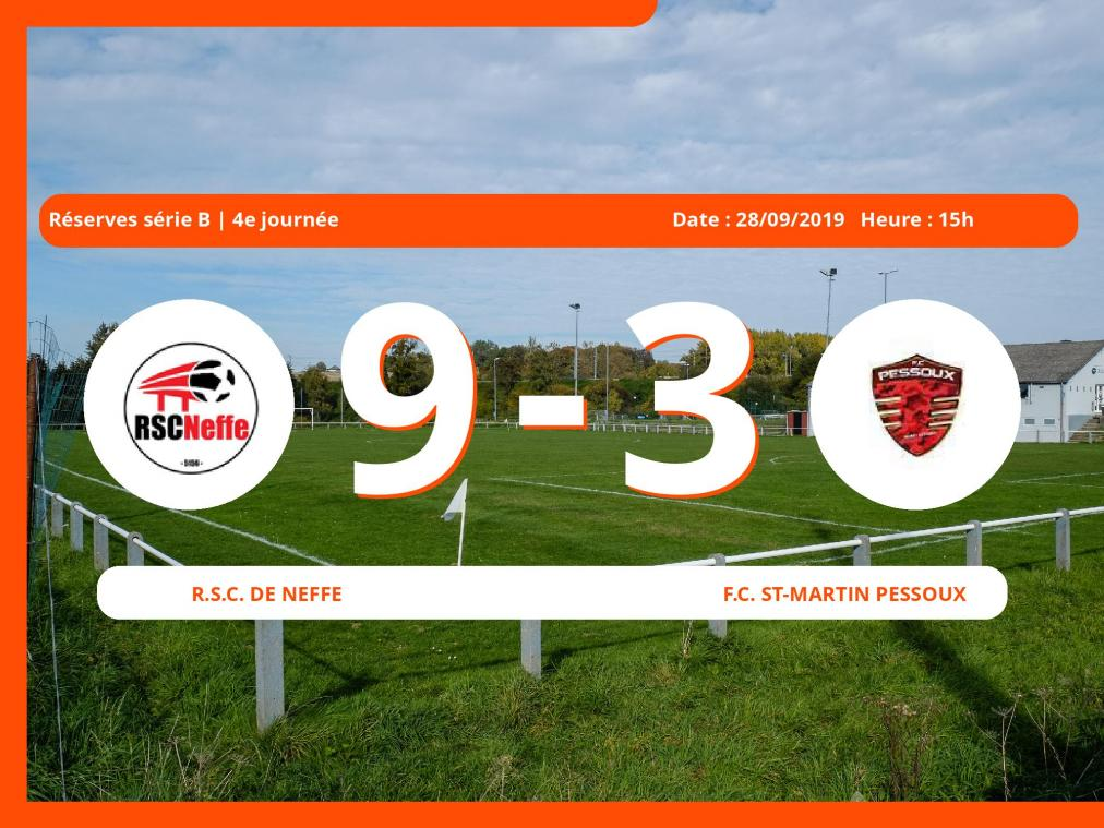 Match des Réserves série B (Namur): Succès 9-3 du Royal Sporting Club Bovigny face au Football Club St-Martin Pessoux