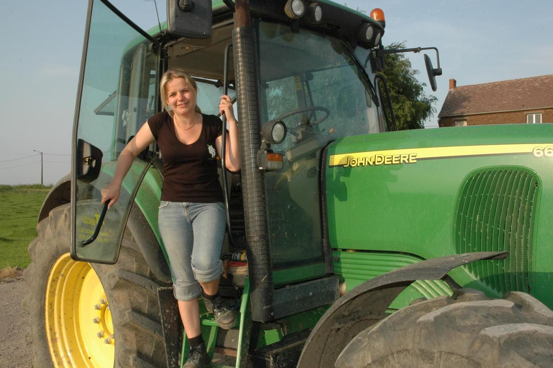 Cindy Beriot est agricultrice.
