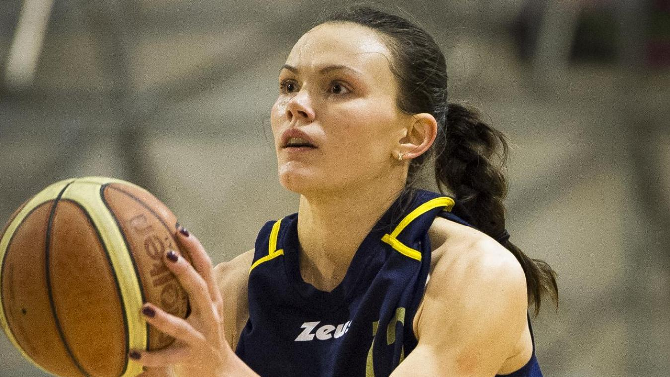 Anete Steinberga a inscrit 21 points.