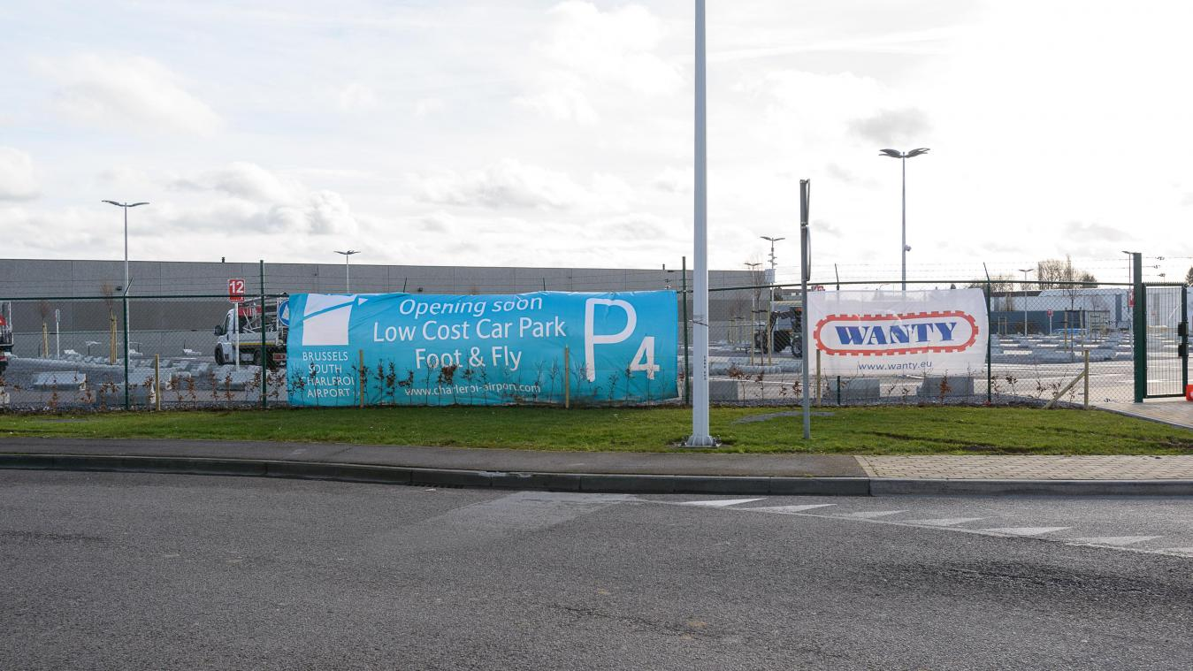 Un nouveau parking «low cost» à l'aéroport de Charleroi