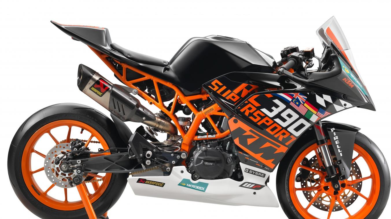 auto moto news ktm rc 390 r ready to race dition digitale de charleroi. Black Bedroom Furniture Sets. Home Design Ideas