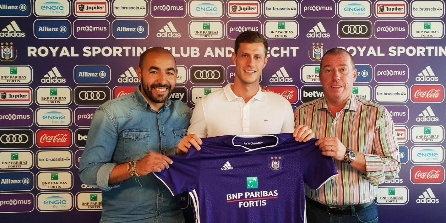 James Alexander Lawrence, 14 e  renfort mauve de l'été. @RSCA.BE