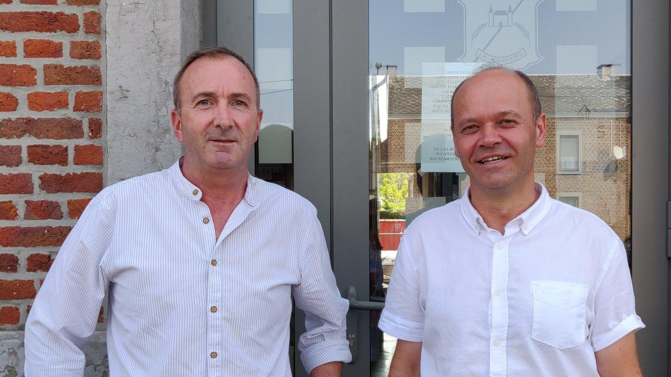 Yves Depas et Thierry Chapelle.