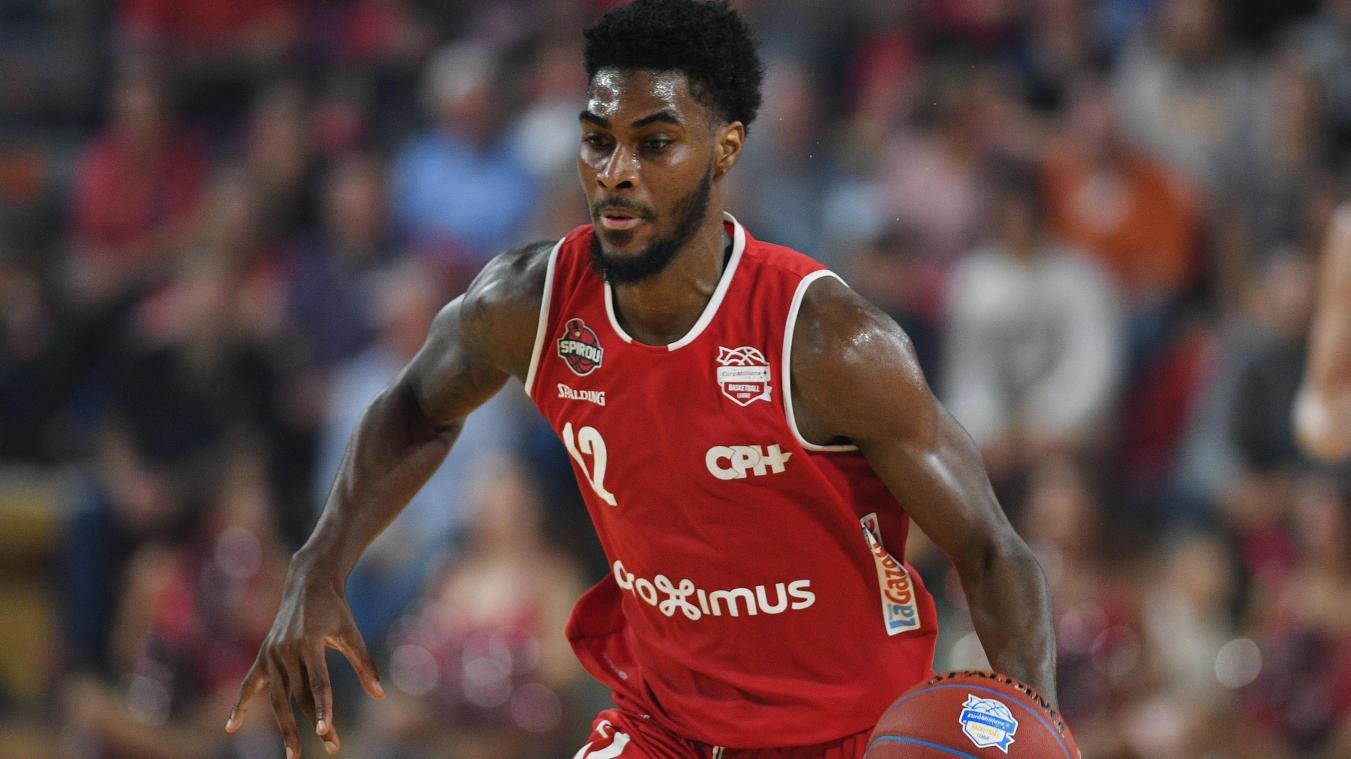 Quincy Ford impuissant face aux Turcs. @Belga