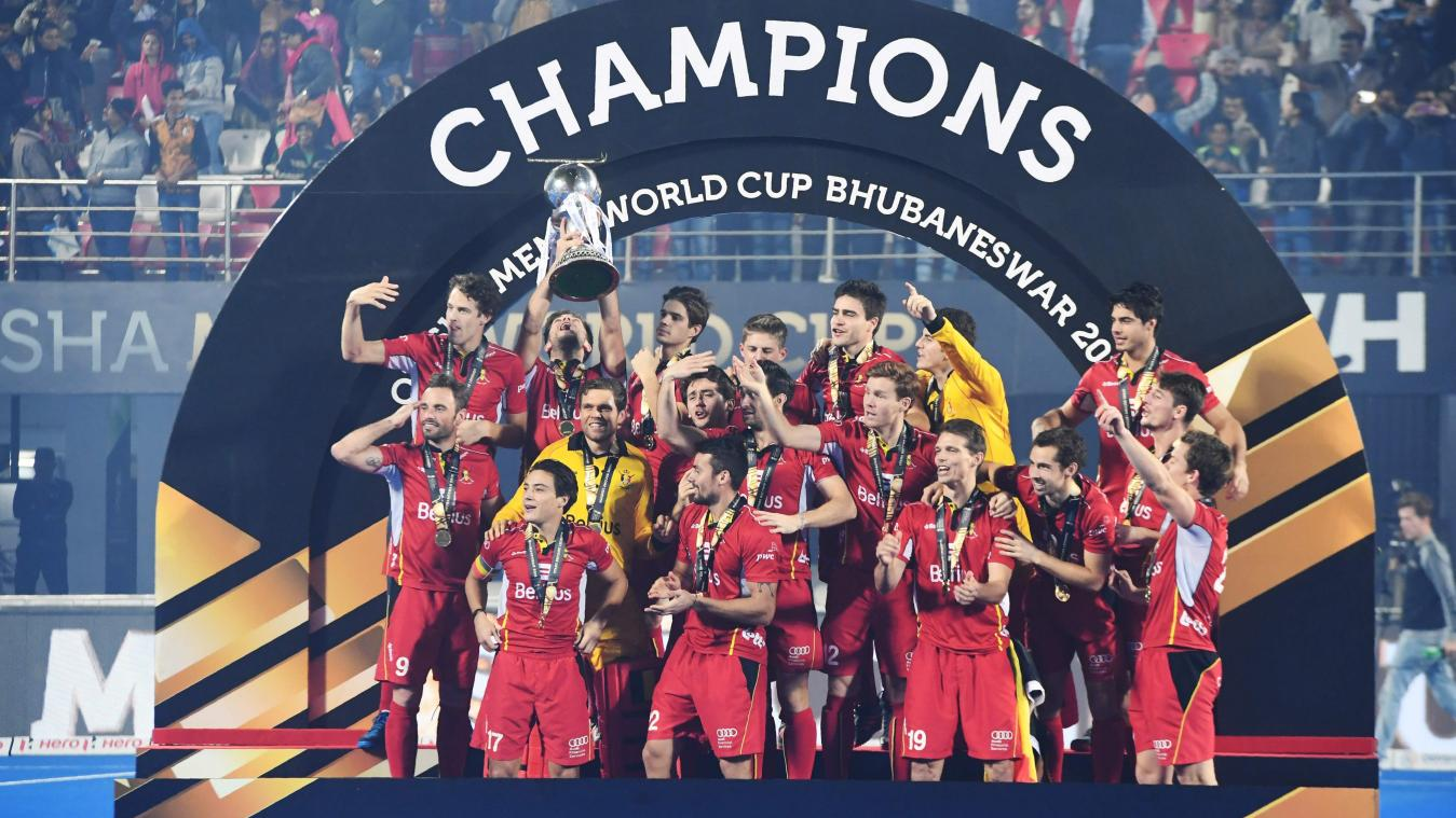 Les red lions sont champions du monde de hockey vid os dition digitale de li ge - Coupe du monde de hockey 2013 ...