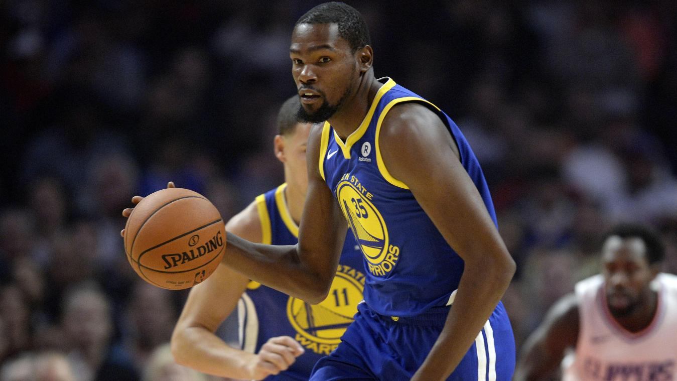 NBA: Kevin Durant Accompagne Golden State à Toronto