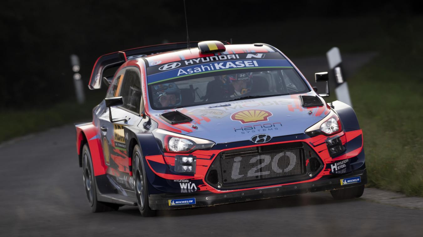 2019 FIA World Rally Championship Round 10, Rallye Deutschland 22 - 25 August 2019 Thierry Neuville  Photographer: Austral Worldwide copyright: Hyundai Motorsport GmbH