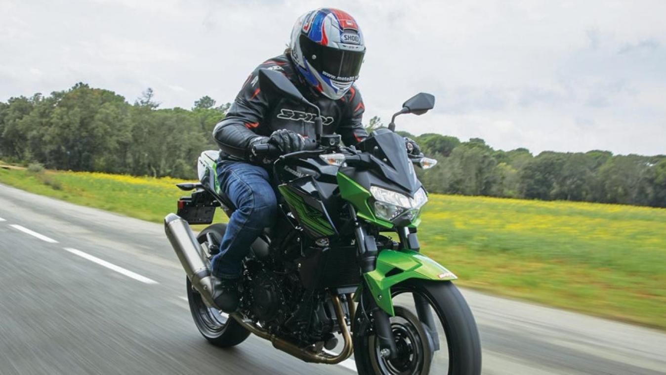 Kawasaki Z400: upgrade significatif