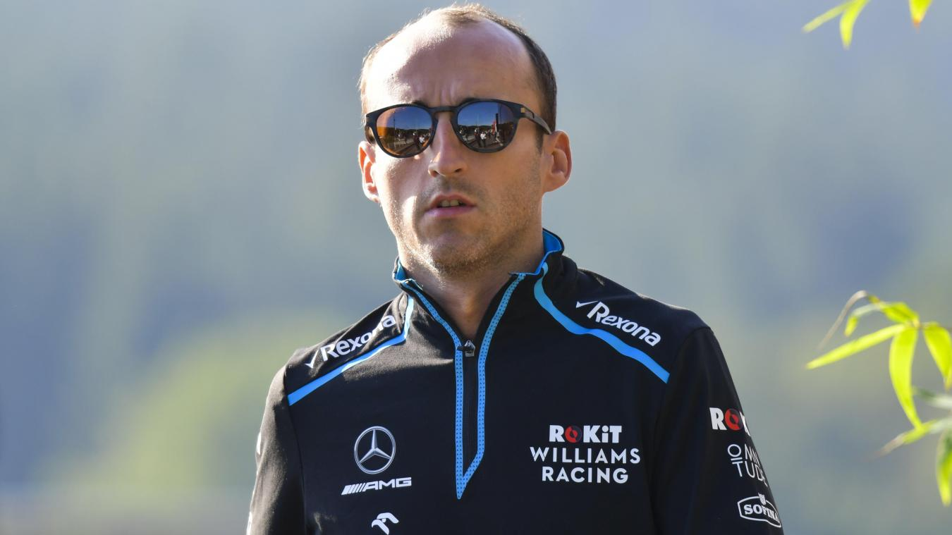 Kubica quittera Williams en fin de saison