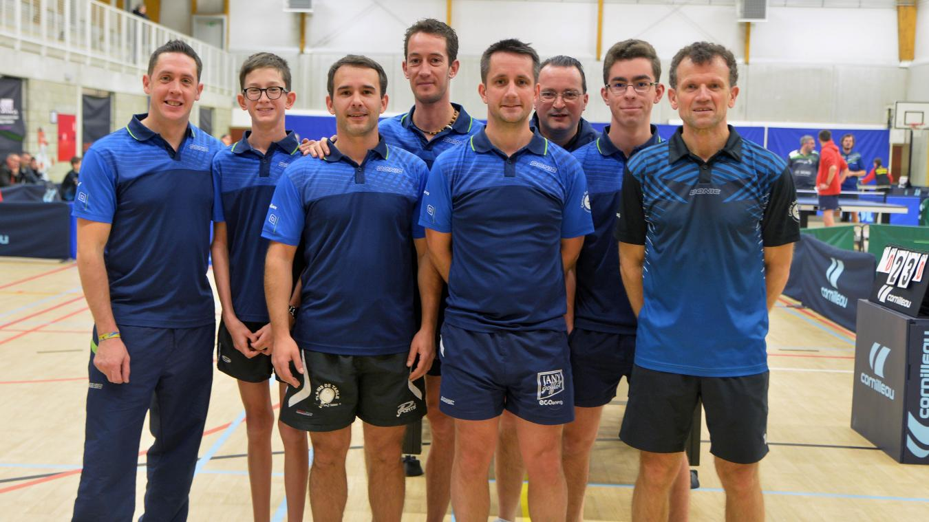 Tennis de table: Centre Ardenne A dans la zone orange