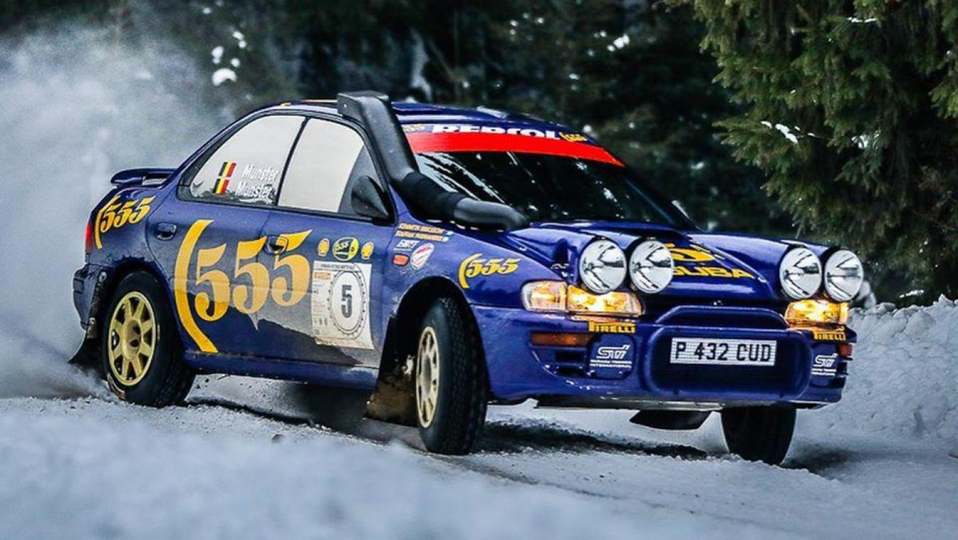 Romania Historic Winter Rally:Charles Munster a tout dompté