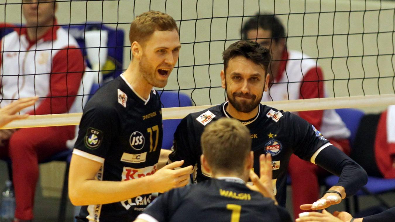Volley League: Roulers bat Maaseik et lui prend la 2e place