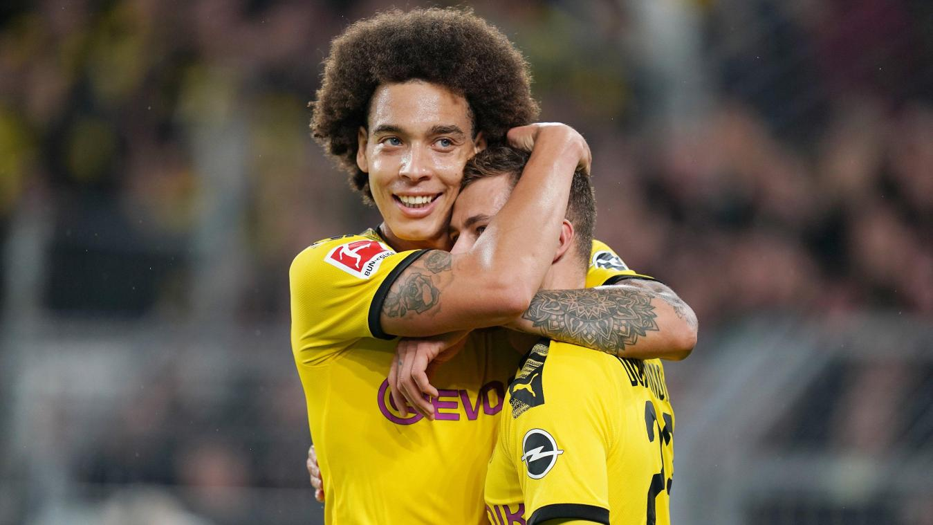 Axel Witsel et Thorgan Hazard