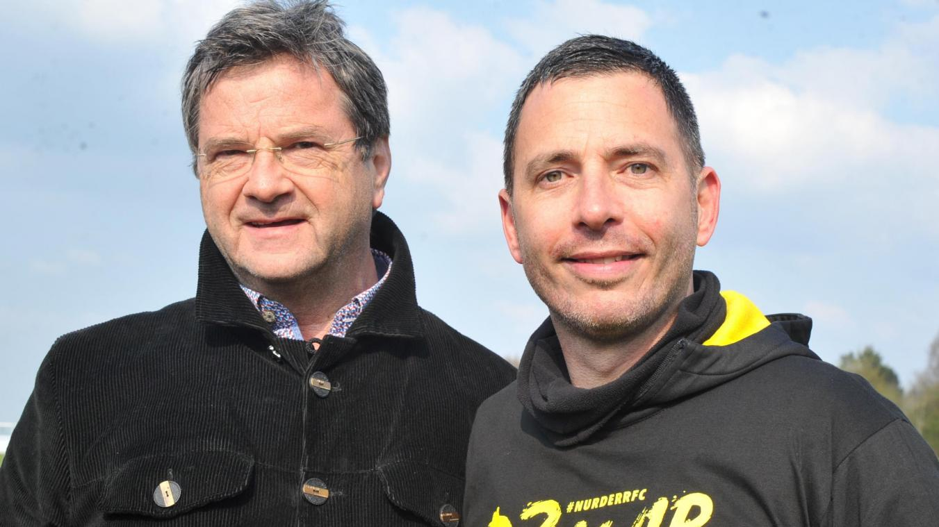 Walther Collubry et Jonathan Negrin.