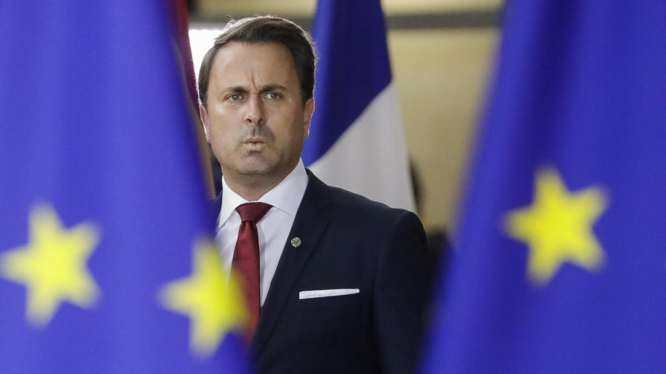 Xavier Bettel prend les choses en main