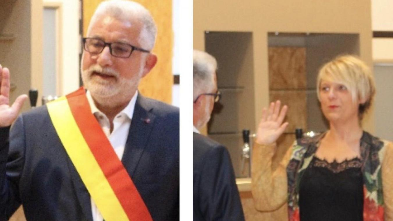 Bruno Louis, officiellement échevin à Braives