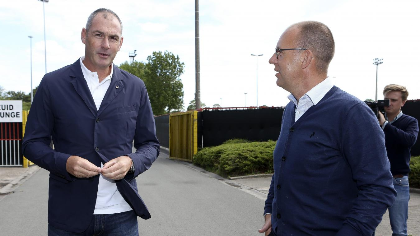 Paul Clement et Vincent Goemaere.