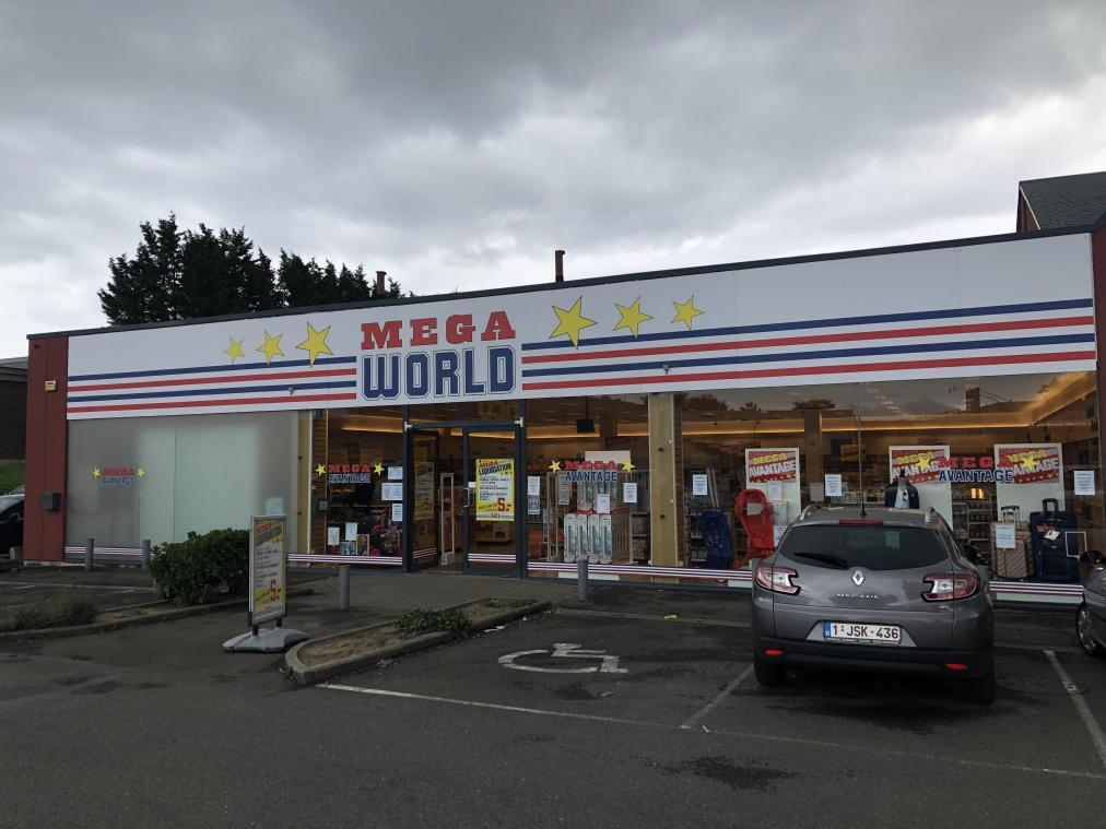 Le magasin Méga World qui remplace Blokker.