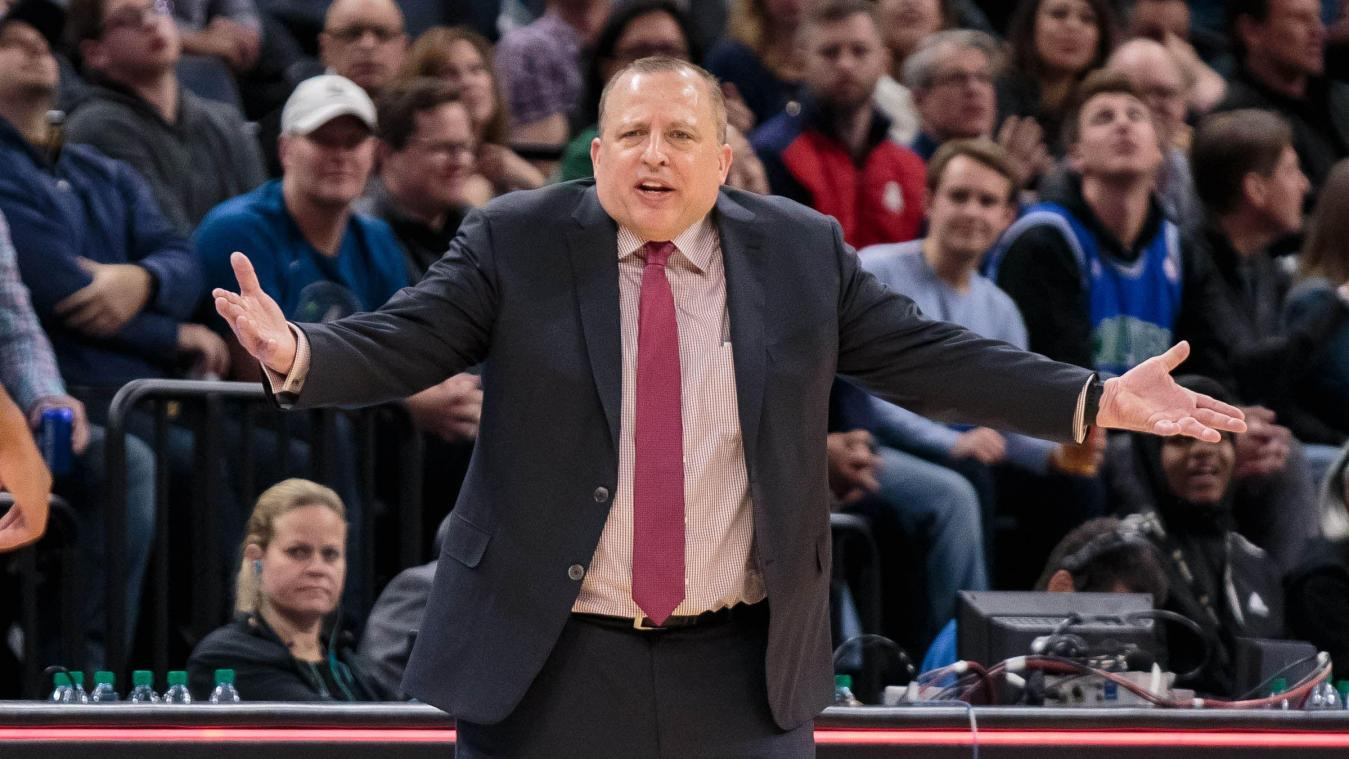 NBA: Tom Thibodeau nouvel entraîneur des New-York Knicks
