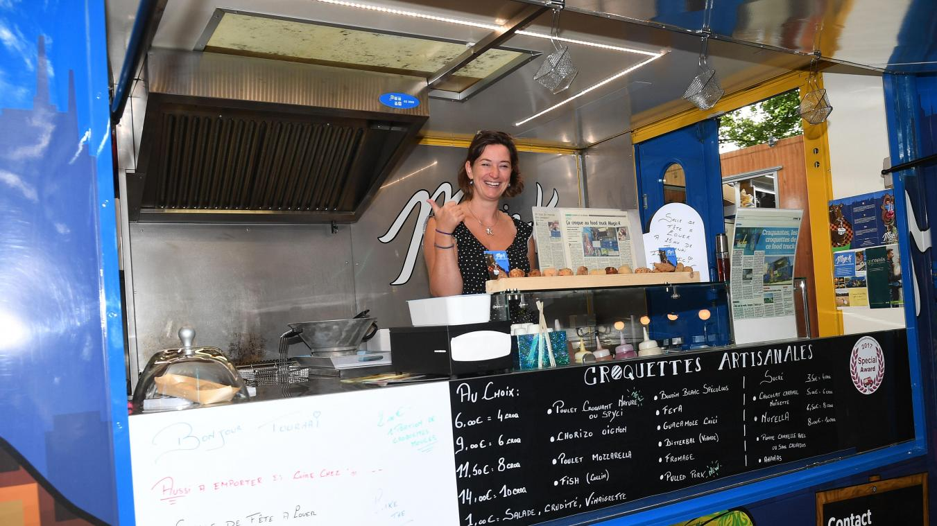 Le Food-truck Magic K proposera ses croquettes.