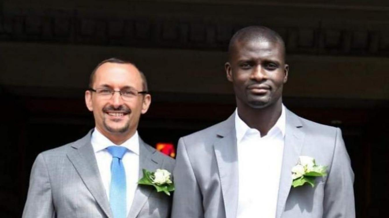 Pascal Rodeyns et Mbaye Wade.