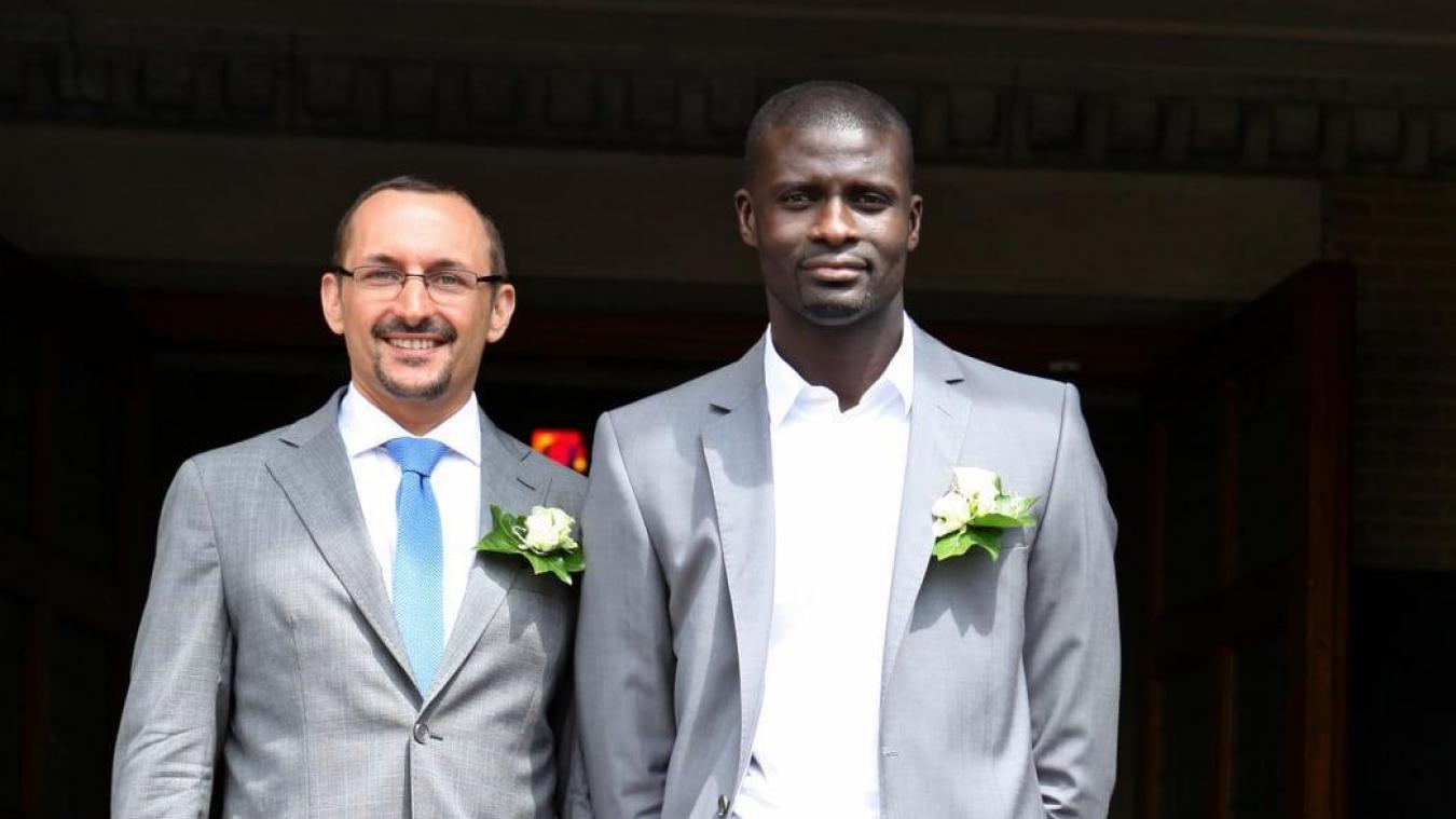 Pascal Rodeyns et son compagnon, Mbaye.