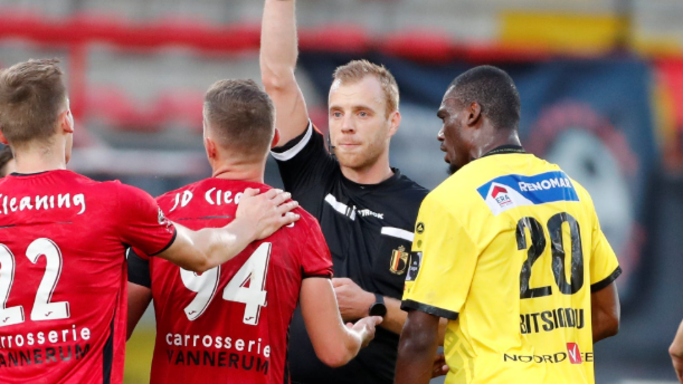 D1B: 3 matches de suspension pour Rommens, le RWDM en appel