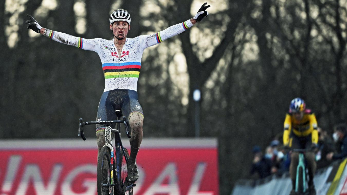 Cyclo-cross: Mathieu van der Poel au bout du suspense