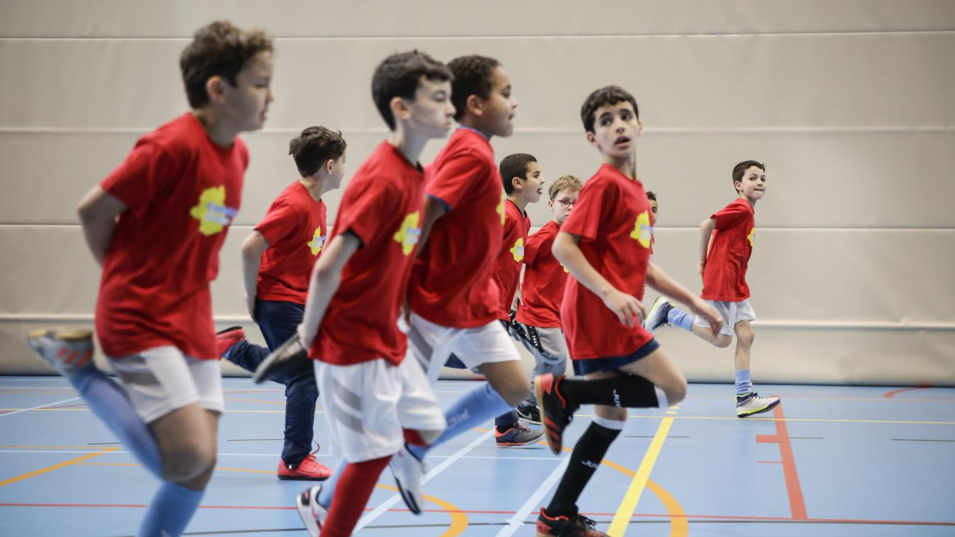 Futsal et multisports sont au menu du stage de l'AS Schaerbeek (photos + vidéo)