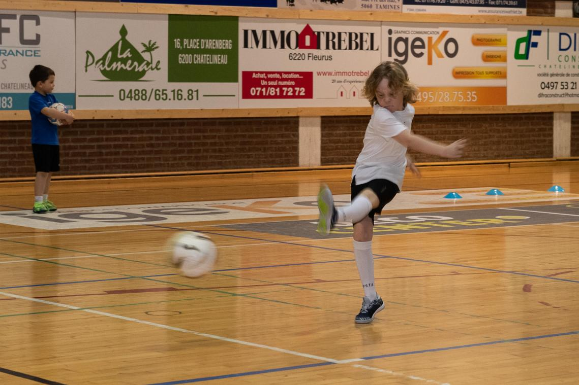 On s'éclate au stage du Futsal My Cars Châtelet (PHOTOS + VIDEOS)