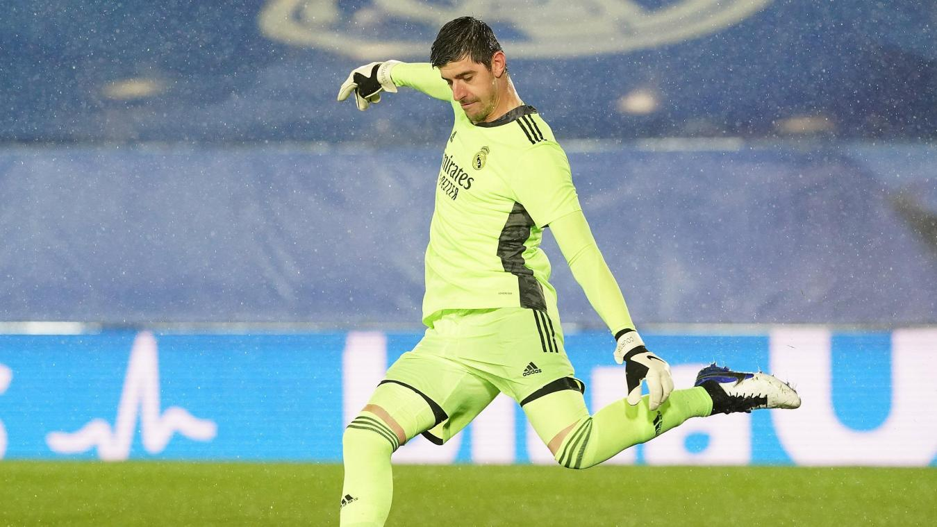 Thibaut Courtois, le gardien national belge, défend aujourd'hui le but du Real Madrid.