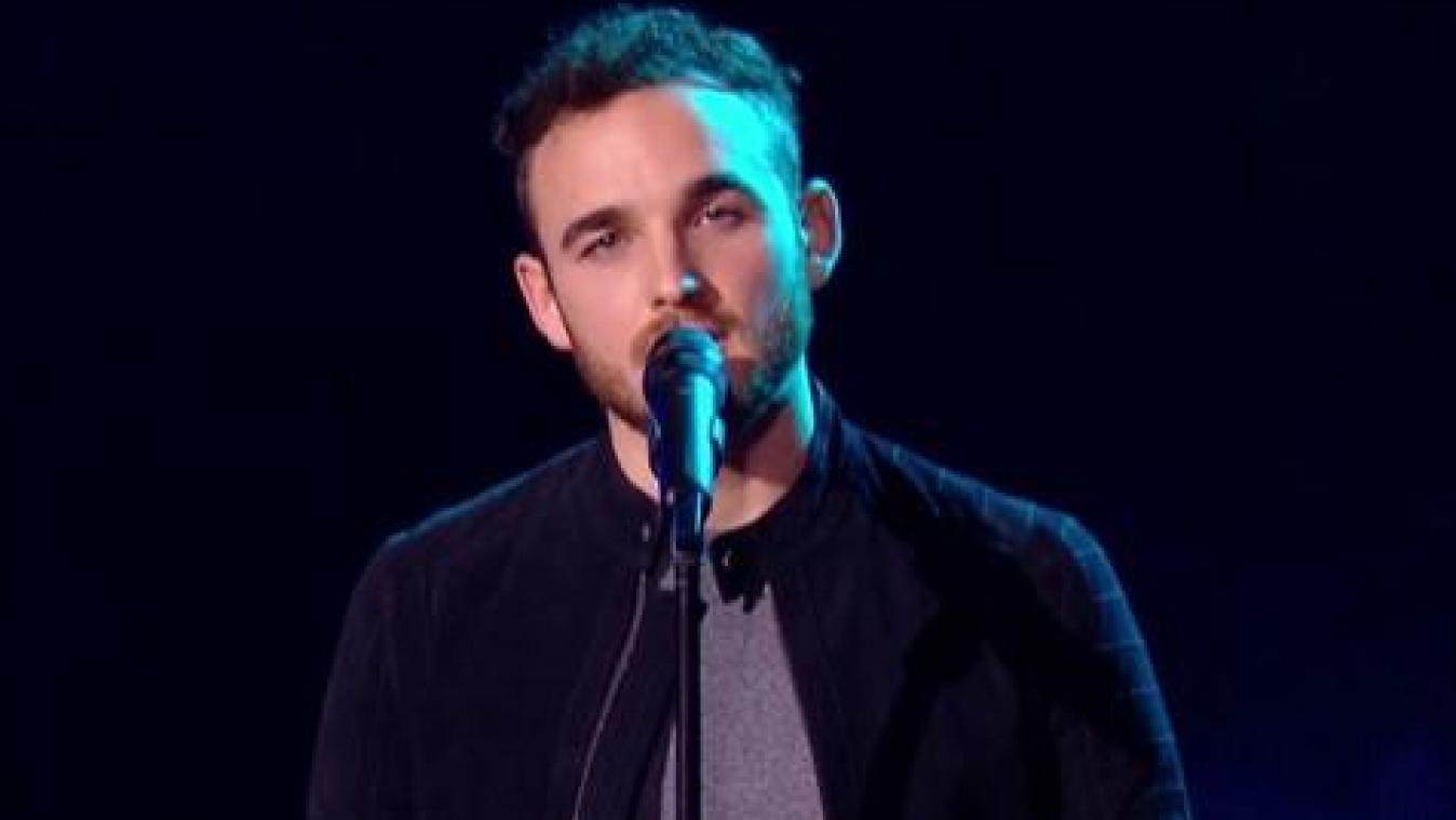 Yannick Schlesser de Tubize a été retenu lors des blinds de The Voice France