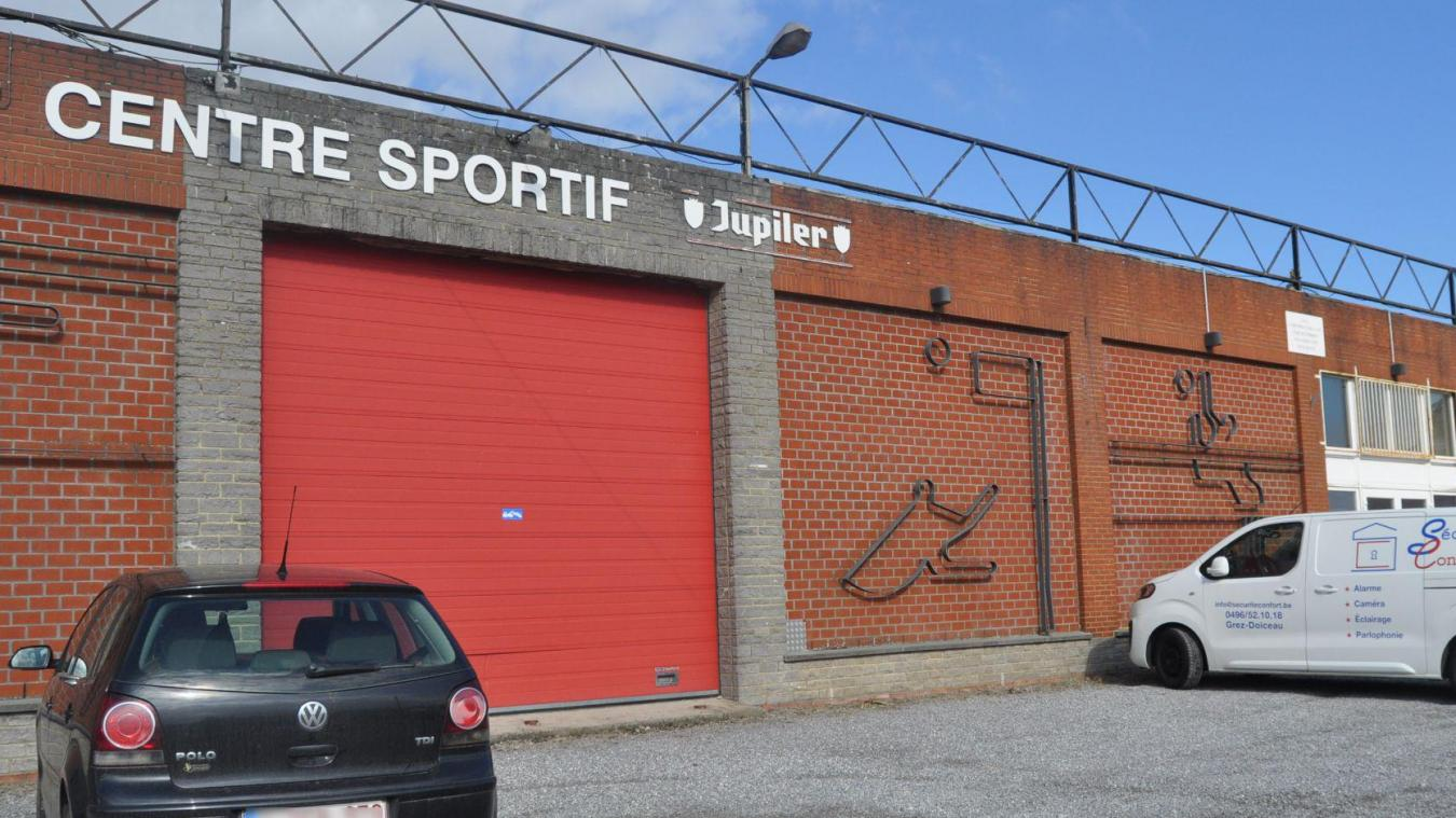 Hall sportif de Sart-Saint-Laurent.