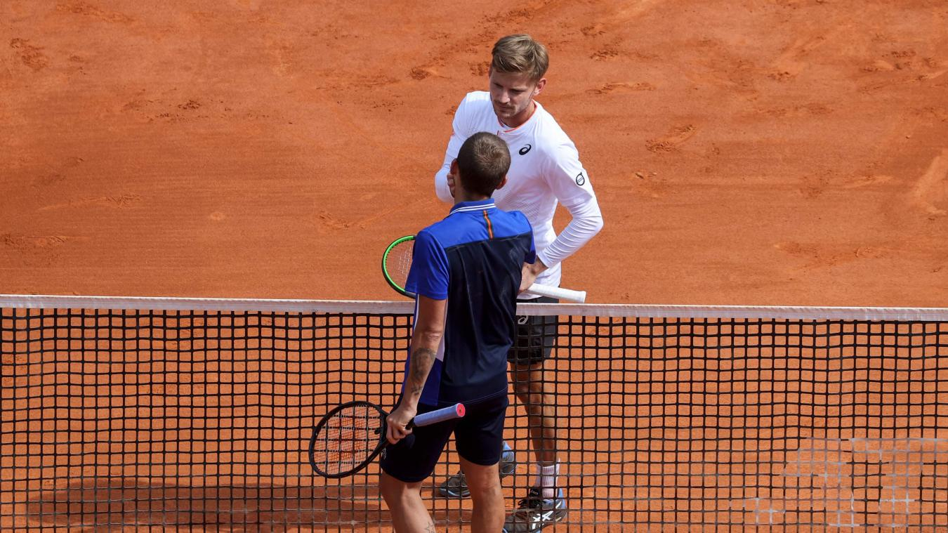 David Goffin et Daniel Evans