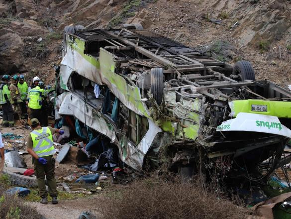 CHILE-ACCIDENT-BUS