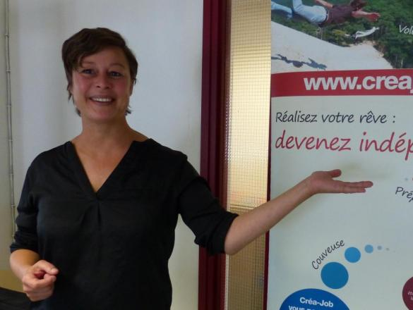 Eve Jumel, directrice de Créa-Job