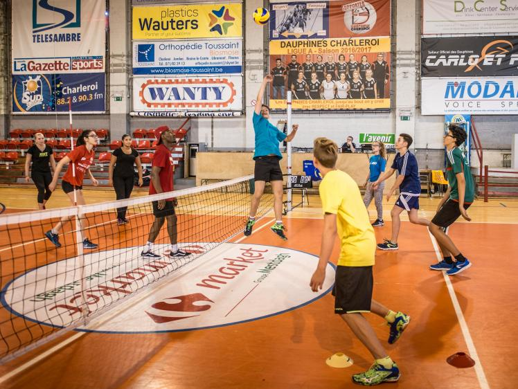 Contact Day Charleroi Volley-1